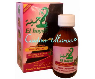 """Huile capillaire """"El Hayah""""- Repousse rapide"""