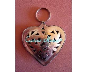 Porte-clés coeur sabra