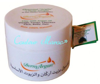 Ghassoul à l'huile d'Argan